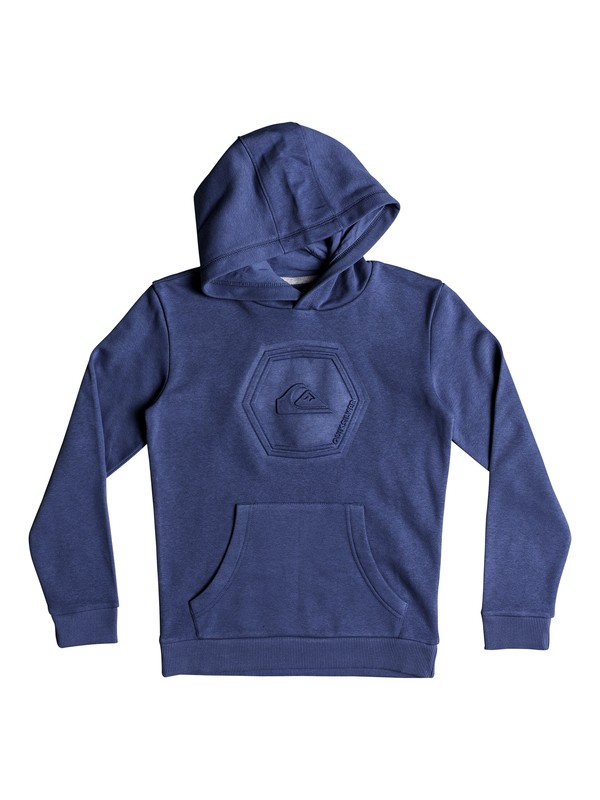 0 Swell Emboss - Hoodie for Boys 8-16 Blue EQBFT03460 Quiksilver