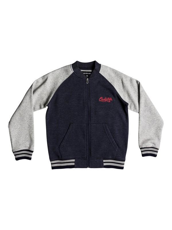 0 You Koso - Bomber Sweatshirt for Boys 8-16 Blue EQBFT03462 Quiksilver