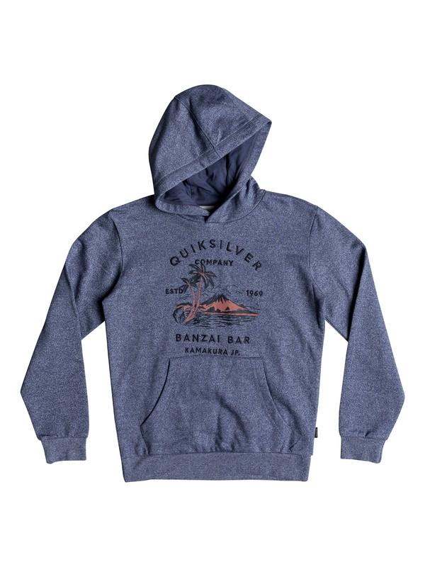 0 Banzai Bar - Hoodie für Jungen 8-16 Blau EQBFT03466 Quiksilver