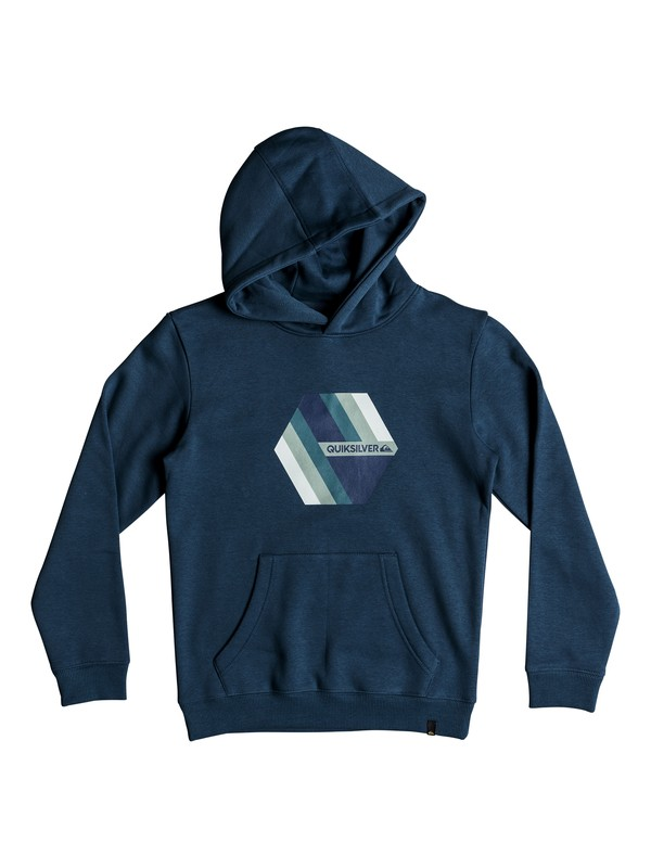 0 Retro Right - Hoodie for Boys 8-16 Blue EQBFT03469 Quiksilver
