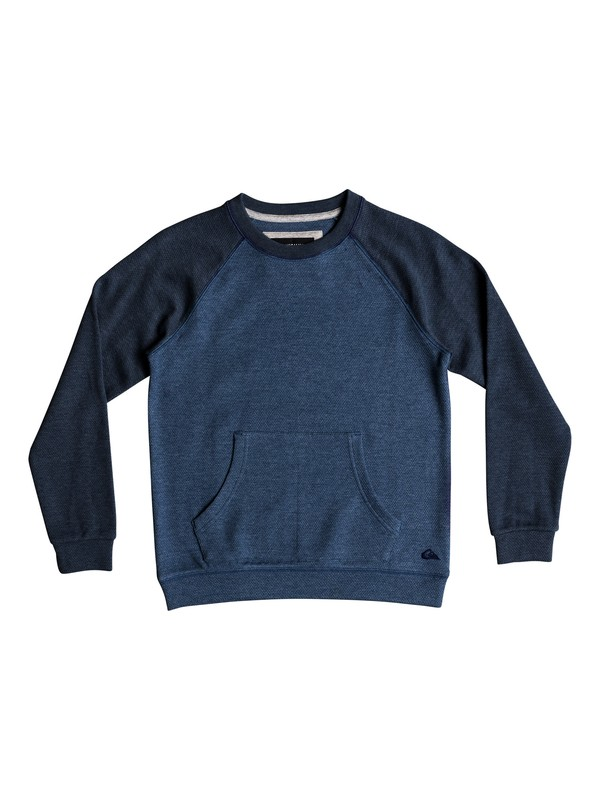 0 Ma Jime - Sweatshirt for Boys 8-16 Blue EQBFT03471 Quiksilver