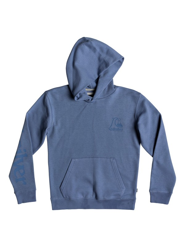 0 Boy's 8-16 Spring Roll Hoodie Blue EQBFT03517 Quiksilver