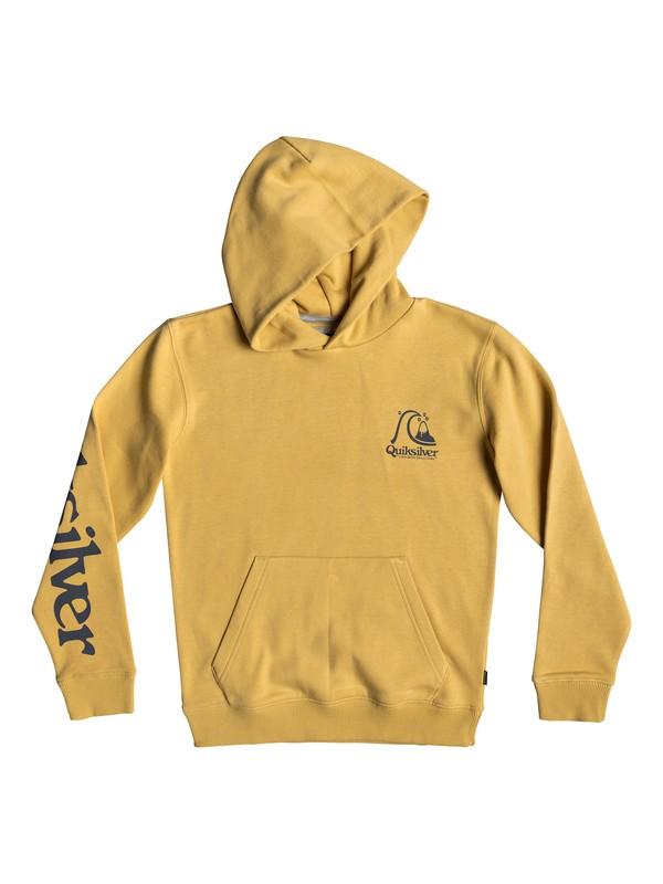 0 Boy's 8-16 Spring Roll Hoodie Yellow EQBFT03517 Quiksilver
