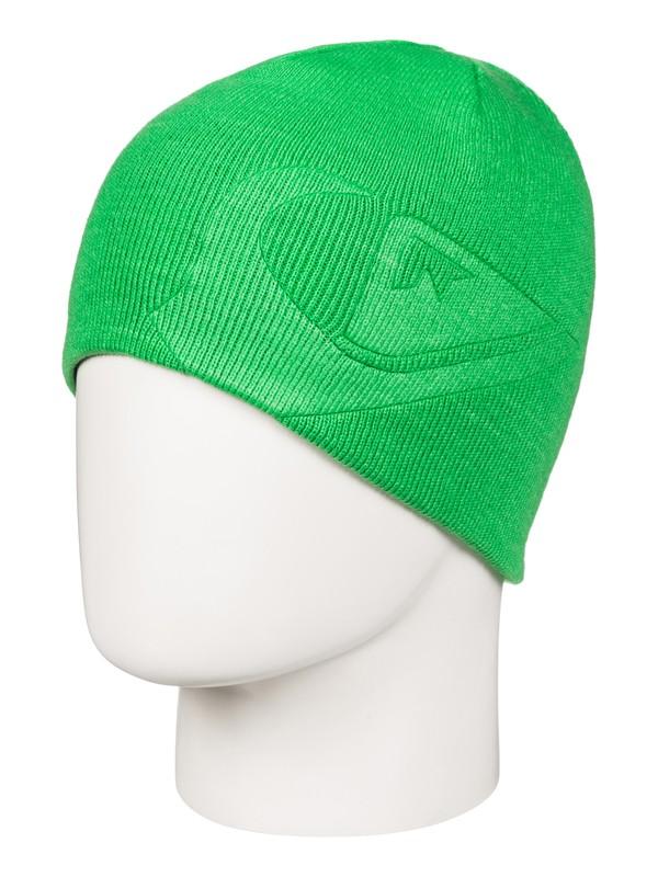 0 M&W - Bonnet réversible Vert EQBHA03017 Quiksilver