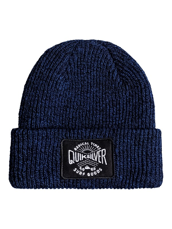 0 Performed Patch - Beanie Blue EQBHA03023 Quiksilver