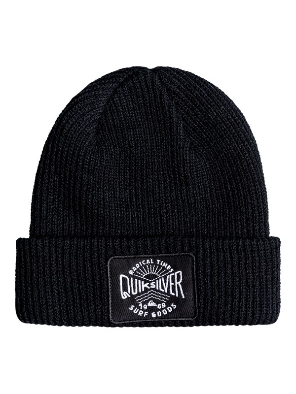 0 Performed Patch - Beanie for Boys 8-16 Black EQBHA03023 Quiksilver