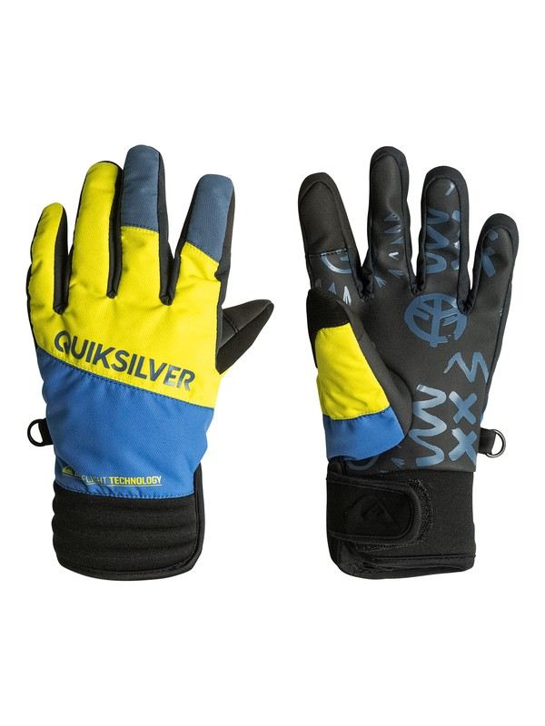 0 Boys 8-16 Method Pipe Gloves  EQBHN03002 Quiksilver