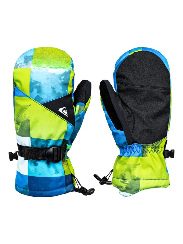 0 Mission - Snowboard/Ski Gloves for Boys 8-16 Green EQBHN03013 Quiksilver