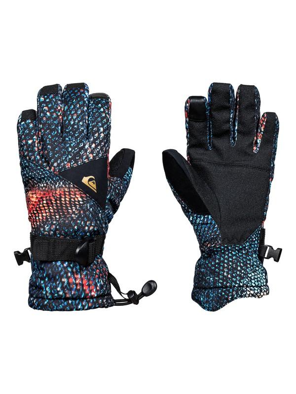 0 Boy's 8-16 Travis Rice Mission Gloves Orange EQBHN03016 Quiksilver