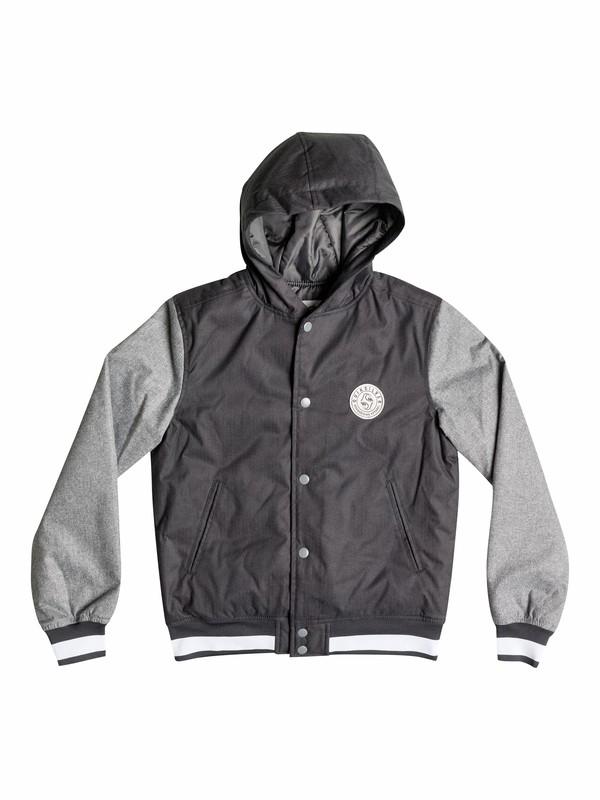 0 Pretender - Baseball Jacket With Hood  EQBJK03029 Quiksilver