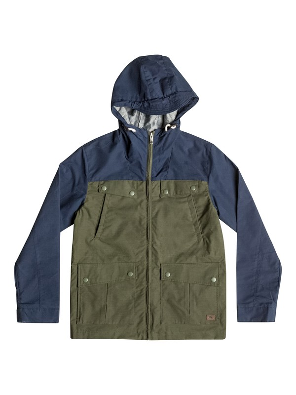0 Seashore Block - Windbreaker  EQBJK03060 Quiksilver