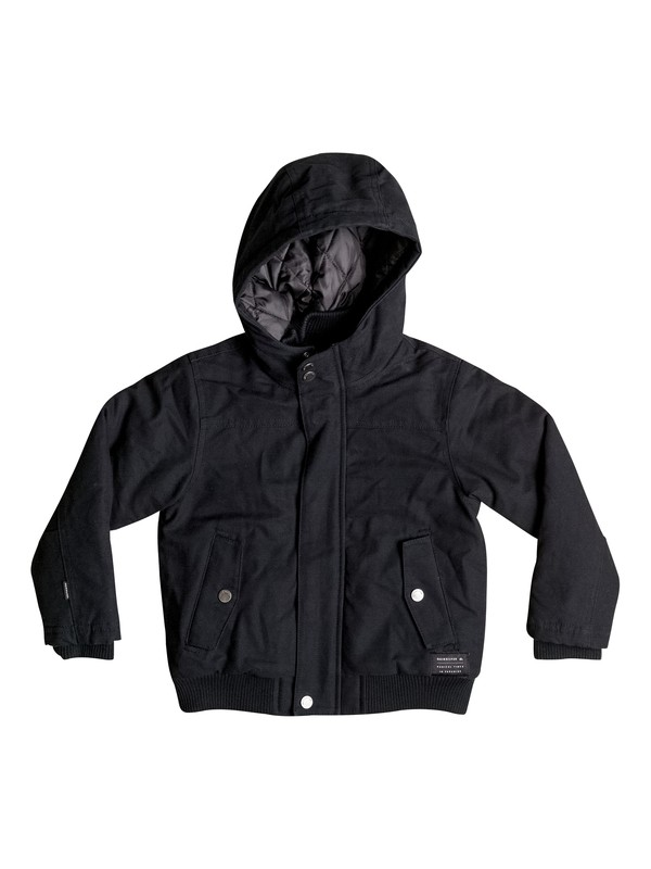 0 Boy's 8-16 Brooks DWR Jacket  EQBJK03080 Quiksilver