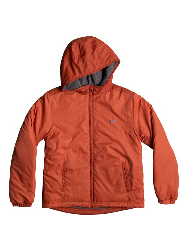 0 Ebao - Water-Repellent Windbreaker for Boys 8-16 Orange EQBJK03122 Quiksilver