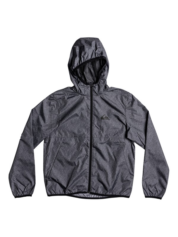 0 Boys 8 -16 Contrasted Windbreaker Black EQBJK03138 Quiksilver