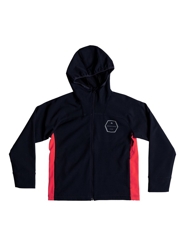 0 Zao Onsen - Water-Resistant Softshell Jacket for Boys 8-16 Blue EQBJK03153 Quiksilver
