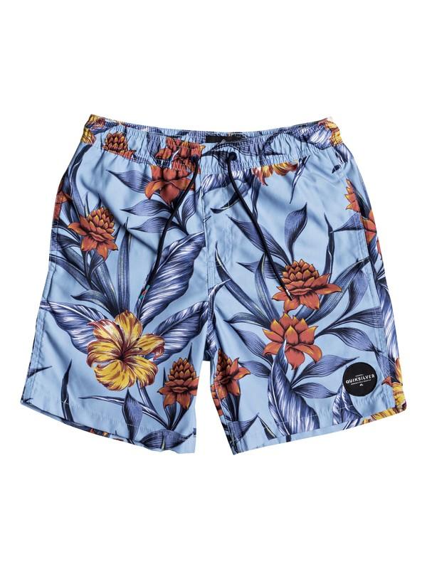 "0 Pua 15"" - Swim Shorts for Boys 8-16 Blue EQBJV03138 Quiksilver"
