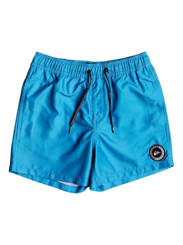 "0 Everyday 13"" - Swim Shorts for Boys 8-16 Blue EQBJV03141 Quiksilver"