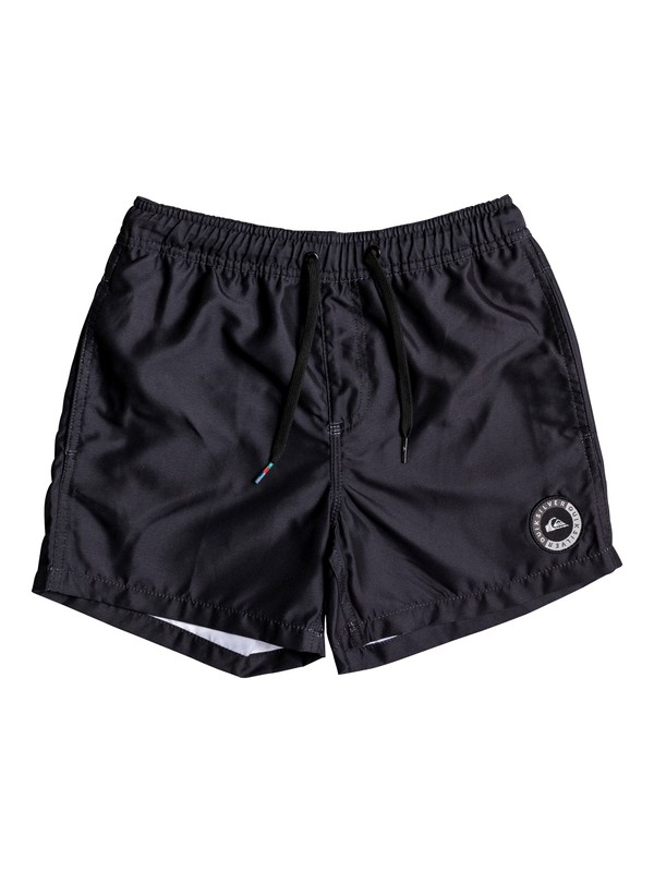"0 Everyday 13"" - Swim Shorts for Boys 8-16 Black EQBJV03141 Quiksilver"