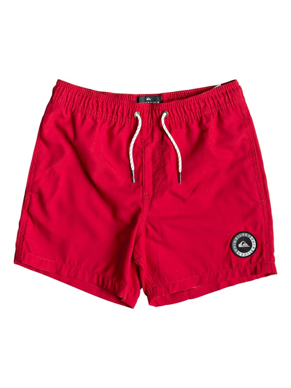 "0 Everyday 13"" - Swim Shorts Red EQBJV03141 Quiksilver"