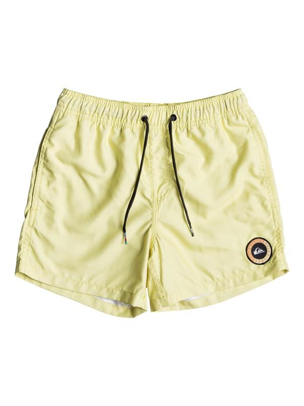 """0 Everyday 13"""" - Swim Shorts Yellow EQBJV03141 Quiksilver"""