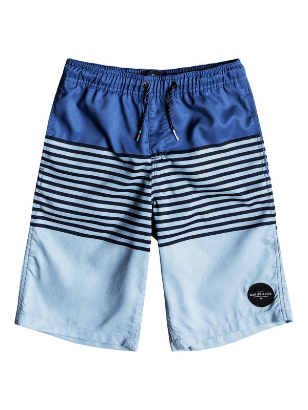 "0 Boys 8 -16 Revolution 19"" Volley Boardshorts  EQBJV03166 Quiksilver"