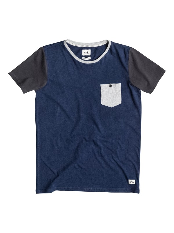 0 Bay Sic Pocket - Camiseta  EQBKT03048 Quiksilver