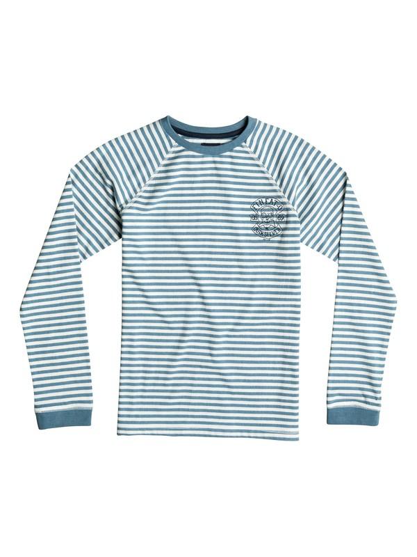 0 Fin Eat Stripe - Long Sleeve T-Shirt  EQBKT03064 Quiksilver
