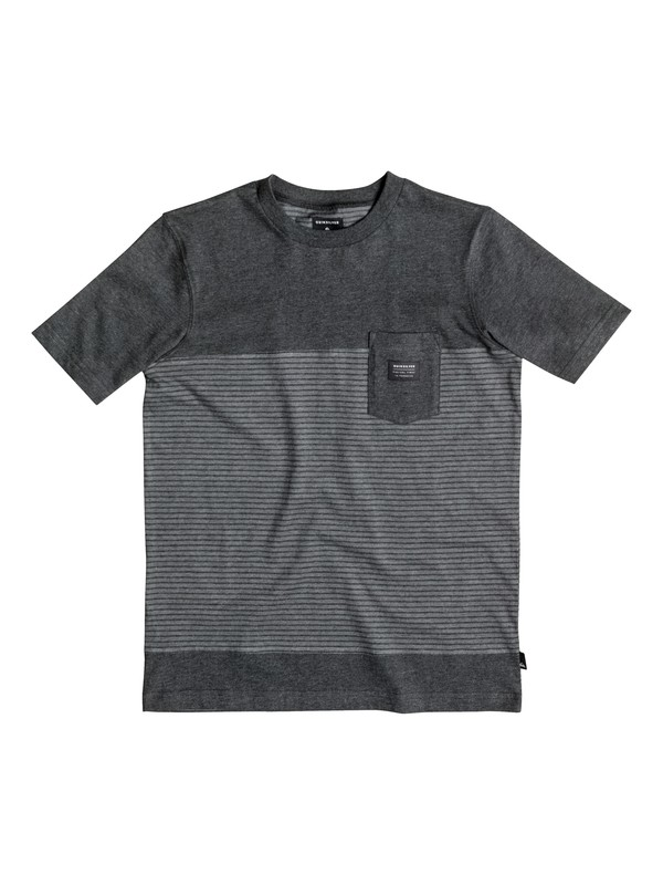 0 Boy's 8-16 Full Tide Pocket Tee  EQBKT03068 Quiksilver