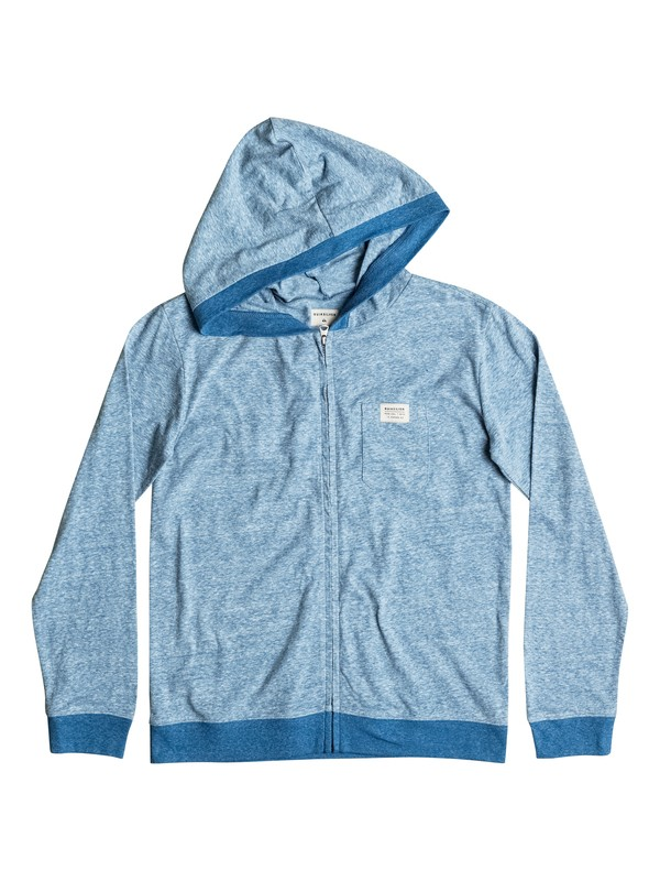 0 Ice Man - Zip-Up Hooded Top  EQBKT03107 Quiksilver