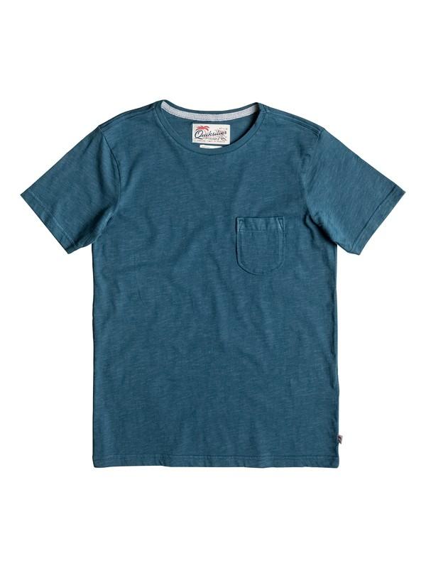 0 Slubstitution - T Shirt col rond  EQBKT03111 Quiksilver