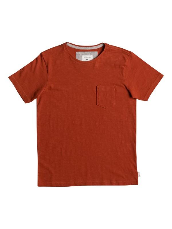0 Slubstitution - T-Shirt Rot EQBKT03111 Quiksilver