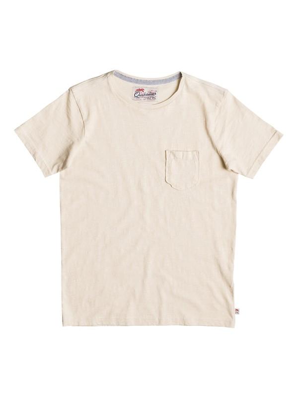 0 Slubstitution - T-Shirt Weiss EQBKT03111 Quiksilver