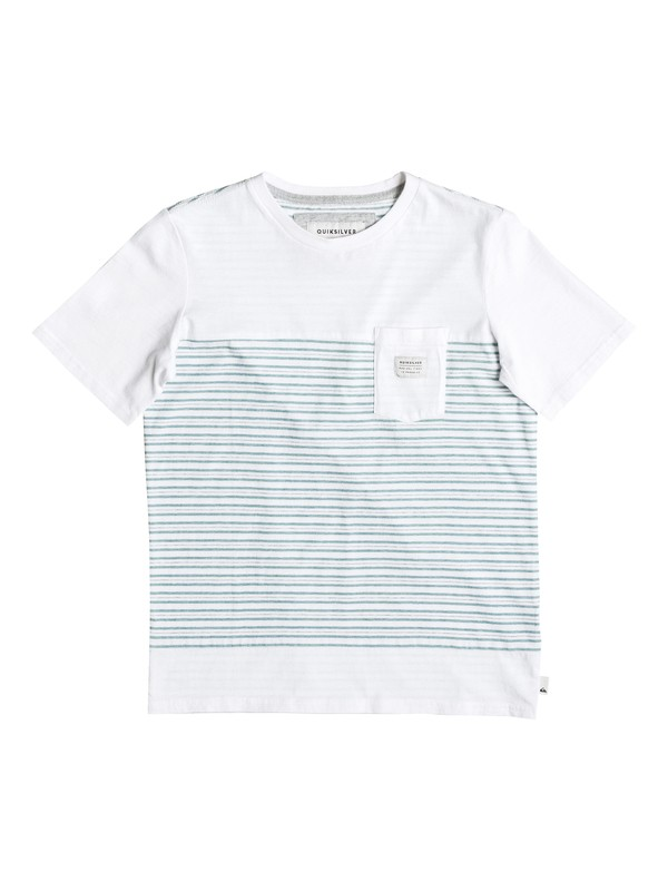 0 Boy's 8-16 Full Tide Pocket Tee  EQBKT03119 Quiksilver
