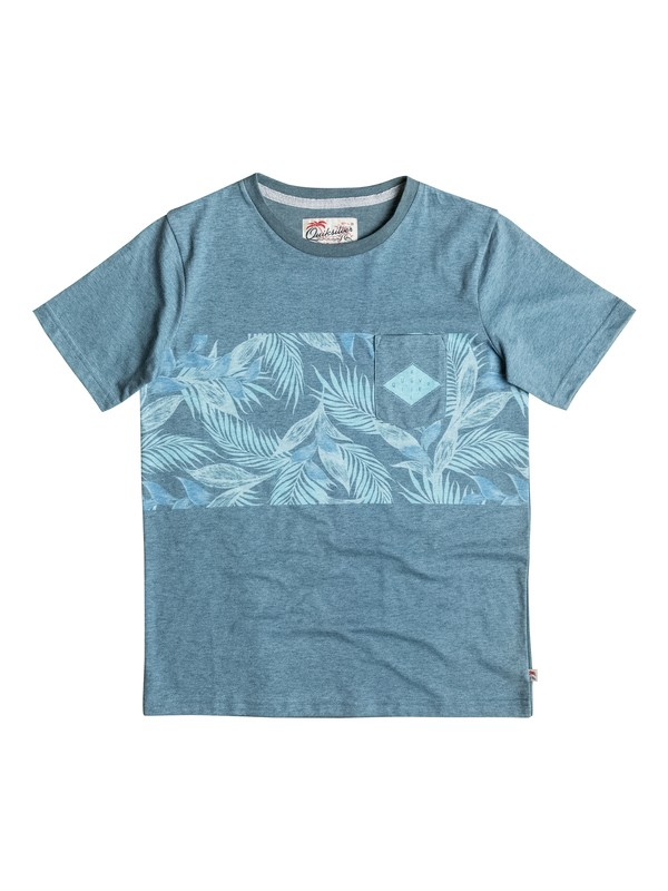 0 Faded Time - Pocket T-Shirt  EQBKT03124 Quiksilver