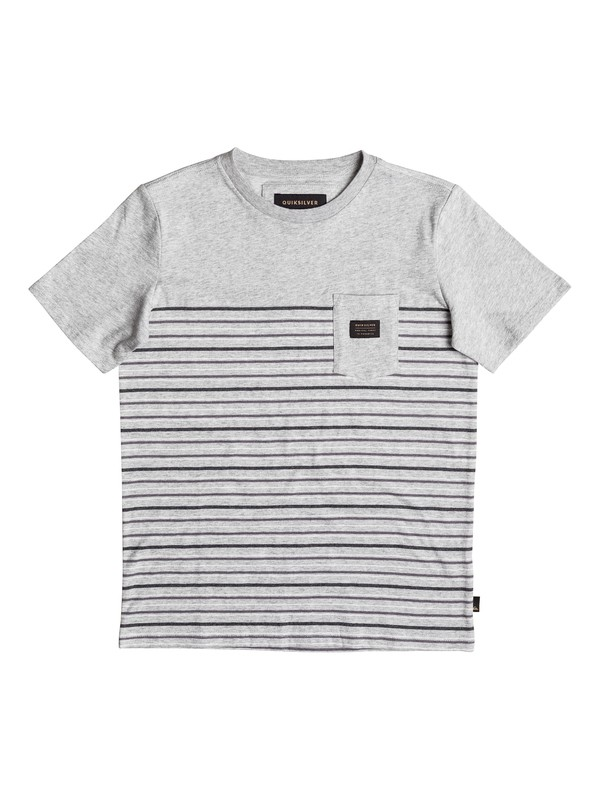 0 Boy's 8-16 Full Tide Pocket Tee  EQBKT03125 Quiksilver