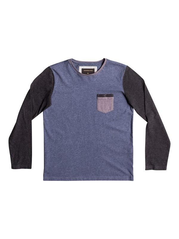 0 Baysic - Long Sleeve T-Shirt Blue EQBKT03136 Quiksilver