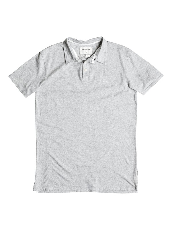 0 Boy's 8-16 Everyday Sun Cruise Polo Shirt Grey EQBKT03143 Quiksilver