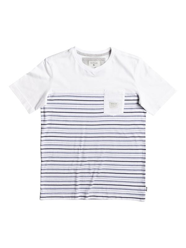 0 Full Tide - T-Shirt White EQBKT03146 Quiksilver
