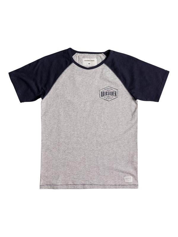 0 Baysic Raglan - T-Shirt for Boys 8-16  EQBKT03148 Quiksilver