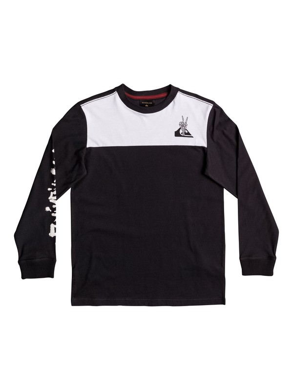 0 Lava - Long Sleeve T-Shirt for Boys 8-16  EQBKT03150 Quiksilver