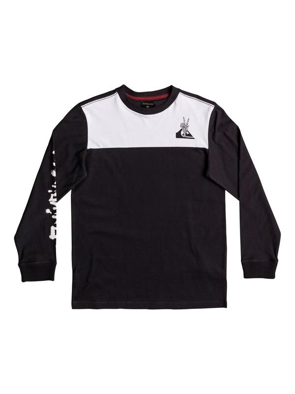 0 Lava - T Shirt à manches longues pour Garçon 8-16 ans  EQBKT03150 Quiksilver