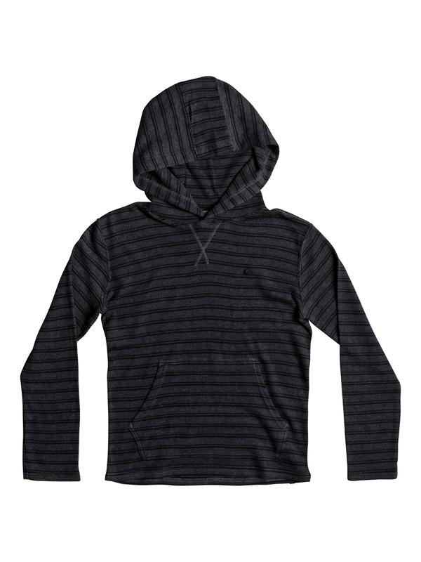 0 Boy's 8-16 Ocean Surface Hooded Long Sleeve Top  EQBKT03159 Quiksilver