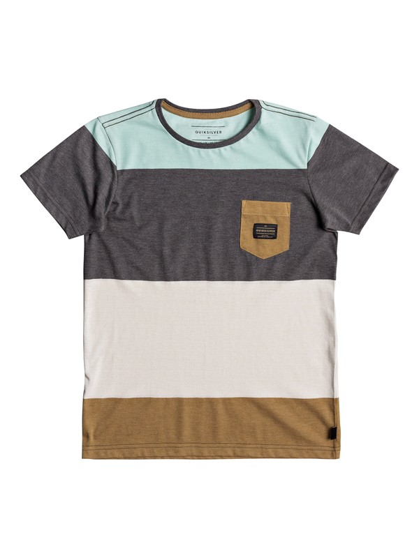 0 Boys 8 -16 Aspenshore Pocket Tee  EQBKT03165 Quiksilver