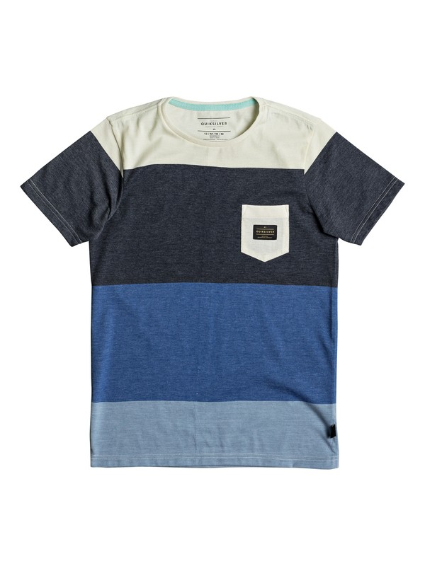 0 Aspenshore - Pocket T-Shirt for Boys 8-16 Blue EQBKT03165 Quiksilver