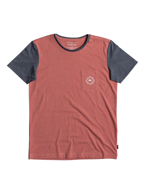 0 Baysic - T-Shirt for Boys 8-16 Pink EQBKT03169 Quiksilver