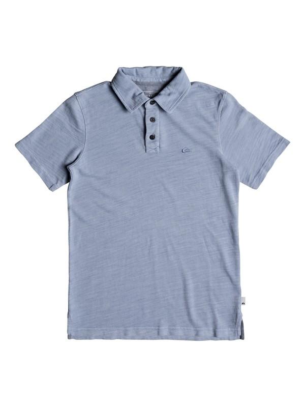 0 Boys 8-16 Everyday Sun Cruise - Polo Shirt Blue EQBKT03170 Quiksilver