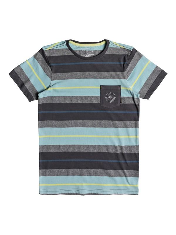 0 Boys 8-16 Oloa - Pocket T-Shirt  EQBKT03178 Quiksilver