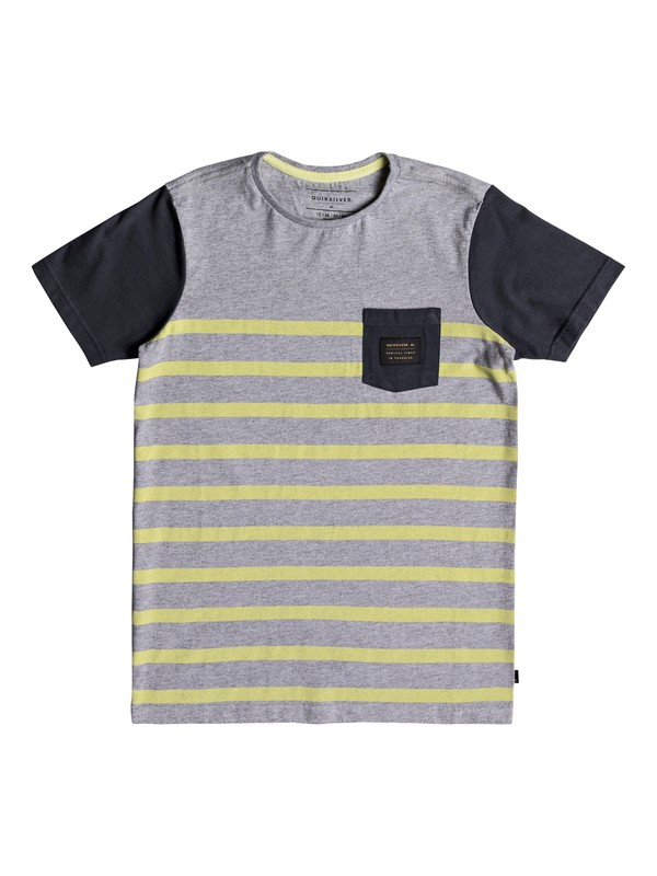 0 Boy's 8-16 Hoopa Valley Pocket Tee  EQBKT03179 Quiksilver