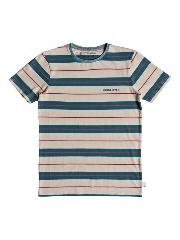0 Dera Steps - T-Shirt for Boys 8-16 Blue EQBKT03184 Quiksilver