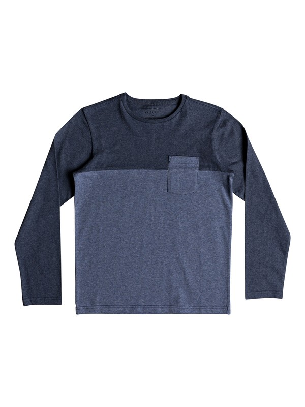 0 Lya Base - Long Sleeve T-Shirt for Boys 8-16 Blue EQBKT03185 Quiksilver